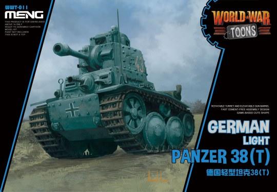 MENG-Model - German Light Panzer 38(T) (CartoonModel)