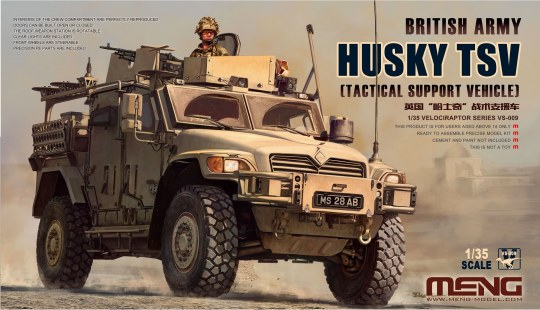 MENG-Model - British Army Husky TSV (Tactical Support Vehicle)