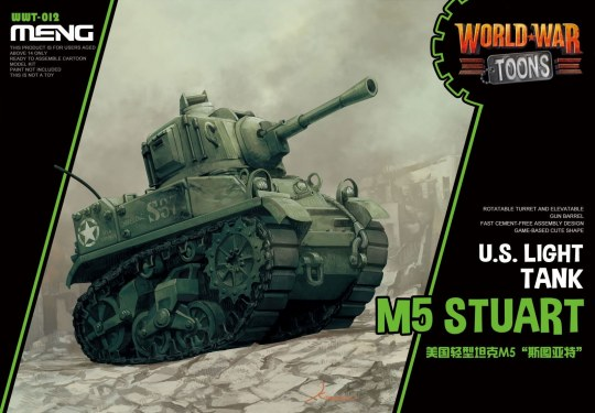 MENG-Model - U.S. Light Tank M5 Stuart (Cartoon Model
