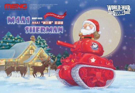 MENG-Model - M4A1 Sherman Christmas Edition(CartoonM