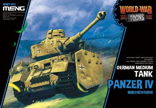 MENG-Model - German Medium Tank Panzer IV (CartoonMod