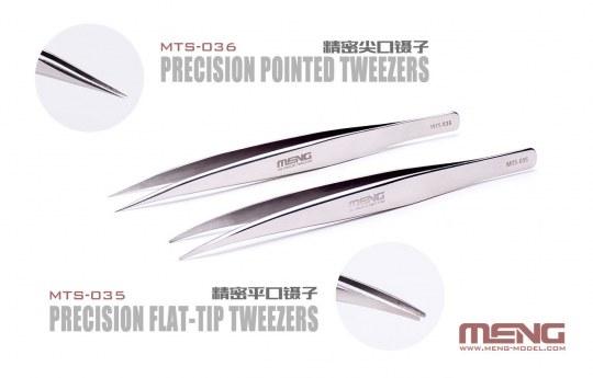 MENG-Model - Precision Flat-Tip Tweezers