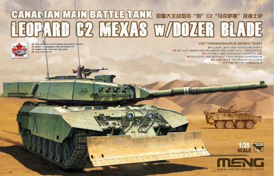 MENG-Model - Canadian Main Battle Tank Leopard C2 MEXAS w/Dozer Blade