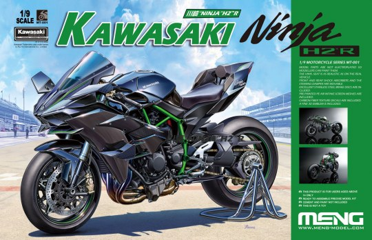 MENG-Model - Kawasaki Ninja H2R (Pre-colored Edition)
