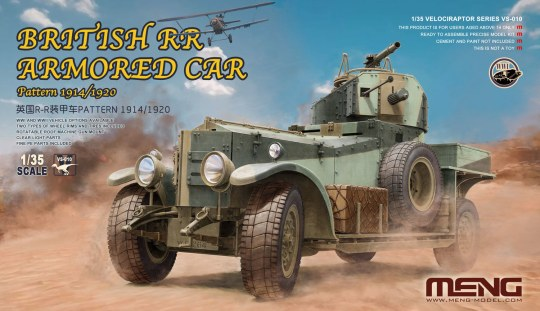 MENG-Model - British RR Armored Car Pattern 1914/1920