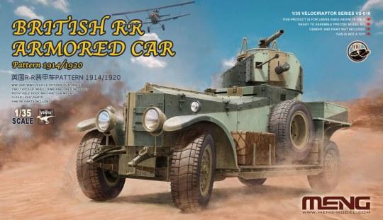 MENG-Model - British RR Armored Car Pattern 1914/1920