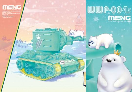 MENG-Model - KV-2 (CartoonModel, incl.resin cartoon bear figurines)
