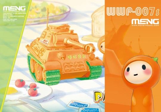 MENG-Model - Panther (CartoonModel, incl.resin cartoo figurine)