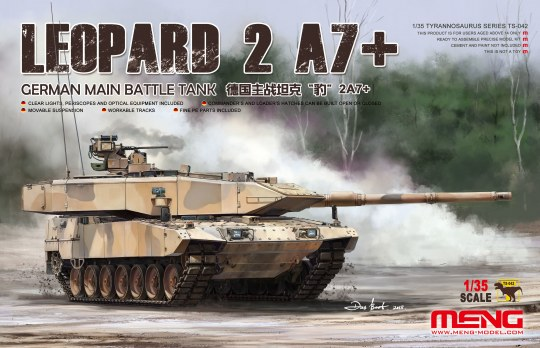 MENG-Model - German Main Battle Tank Leopard 2A7+
