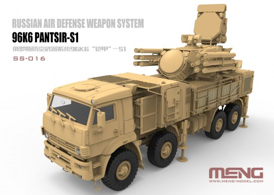 MENG-Model - Russian Air Defense Weapon System 96K6 Pantsir-S1