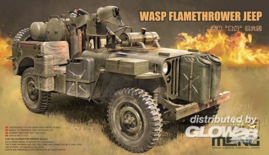 MENG-Model - WASP Flamethrower Jeep