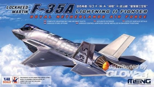 MENG-Model - Lockheed Martin F-35A Lightning II Fighter Royal Netherl AirForce