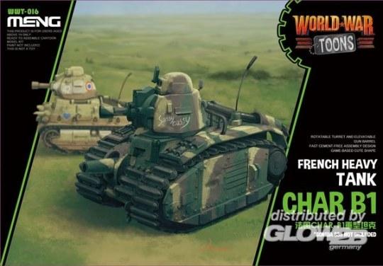 MENG-Model - French Heavy Tank Char B1 (Cartoon Model)