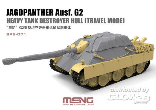 MENG-Model - Jagdpanther Ausf. G2 Heavy Tank Destroyer Hull (Travel Mode) (Resin)