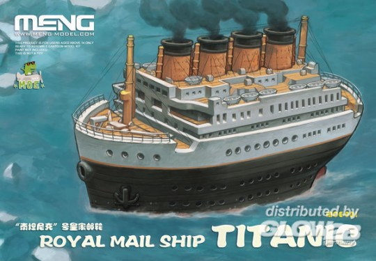 MENG-Model - Royal Mail Ship Titanic (CARTOON MODEL)