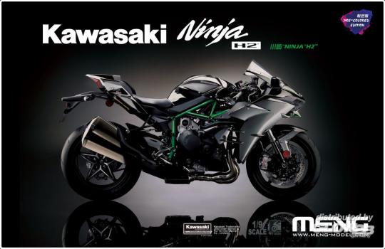 MENG-Model - Kawasaki Ninja H2 (Pre-colored Edition)