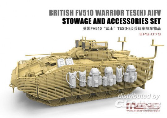 MENG-Model - British FV510 Warrior TES(H) AIFV Stowage And Accessories Set (RESIN)