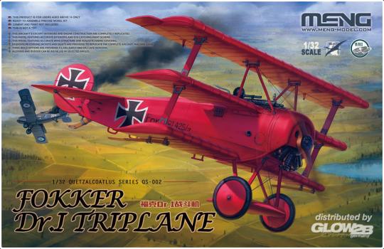 MENG-Model: Fokker Dr.I Triplane