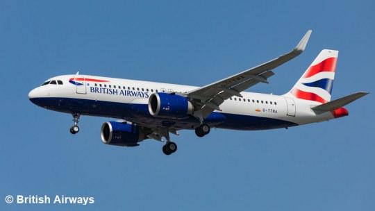 Model SetAirbus A320 neo British Airways