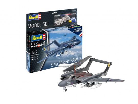 Model Set Sea Vixen FAW 2