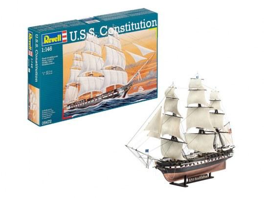 Model Set USS Constitution
