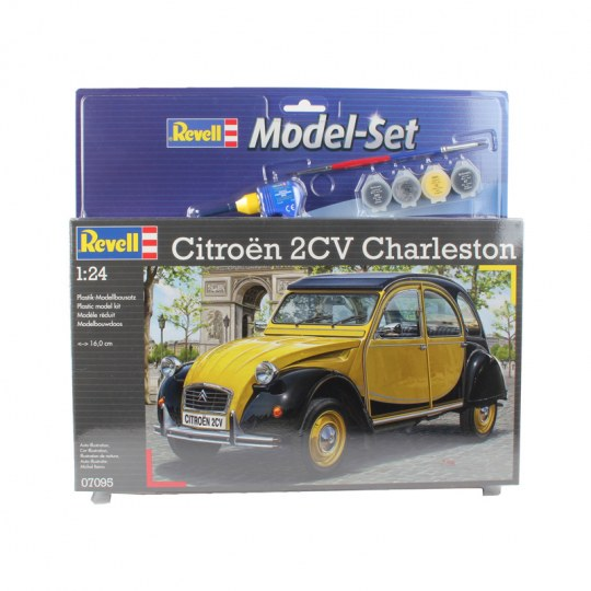 Model Set Citroen 2CV CHARLESTON
