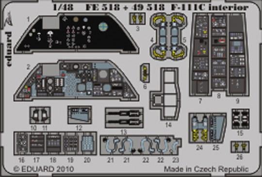 Eduard - F-111C interior S.A. for Hobby Boss