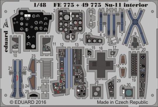 Eduard - Su-11 interior for Hobby Boss