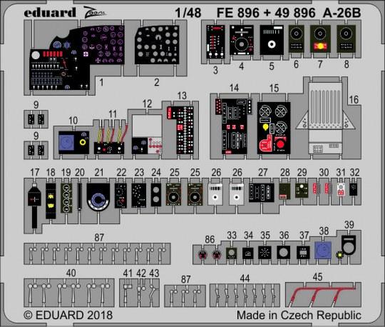 Eduard - A-26B for Revell