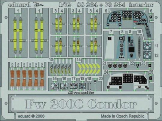 Eduard - Fw 200C Condor interior für Revell-Bausatz
