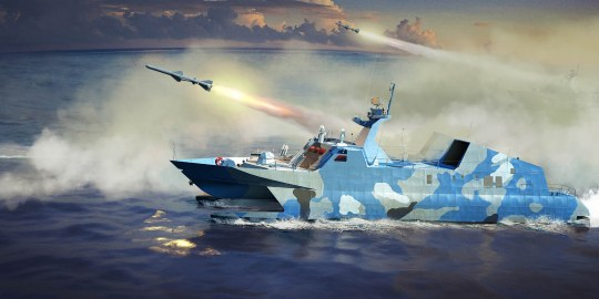 Trumpeter - PLA Navy Type 22 Missile Boat