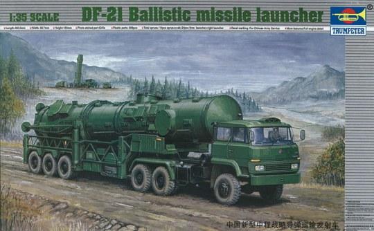 Trumpeter - Chinesischer Raketenwerfer DF-21