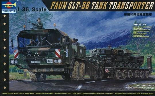 Trumpeter - FAUN Elefant SLT-56 Panzer-Transporter