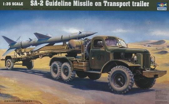 Trumpeter - Chinesischer SA-2 Lenkraketentransporter