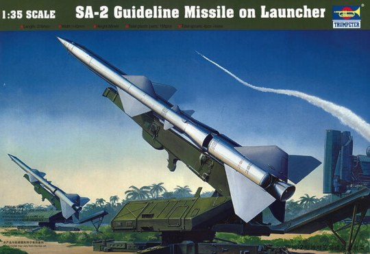Trumpeter - SA-2 Guideline Missile w/Launcher Cabin