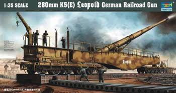 Trumpeter - Eisenbahngeschütz Leopold 280mm K5 (E)