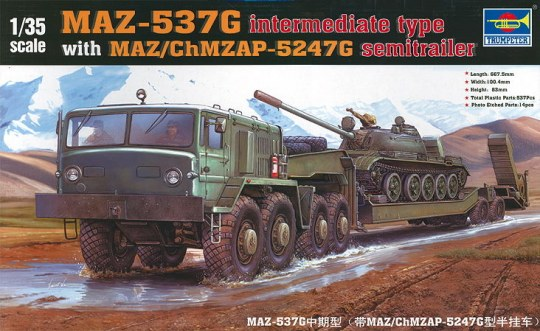 Trumpeter - MAZ-537G intermediate Type