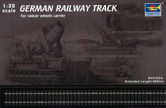 Trumpeter - German Railway Track Set