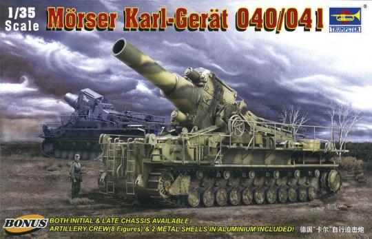 Trumpeter - Mörser KARL-Gerät 040/041