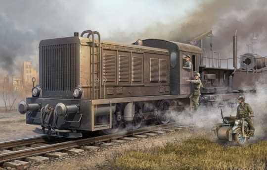 Trumpeter - German WR 360 C12 Locomotive