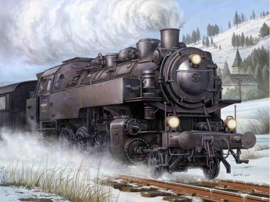 Trumpeter - Dampflokomotive BR86