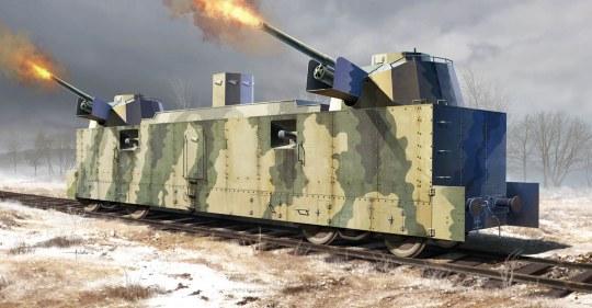 Trumpeter - Soviet PL-37 Light Artillery Wagon
