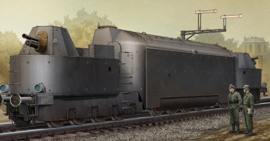 Trumpeter - German Armored Train Panzertriebwag.Nr16