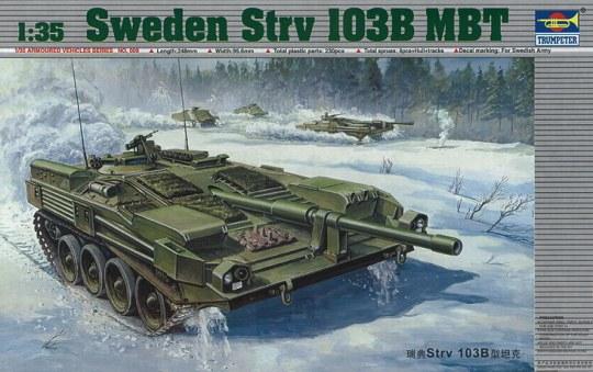 Trumpeter - Schwedischer Strv 103B MBT