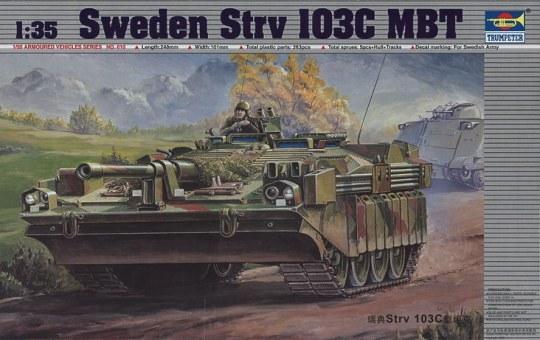 Trumpeter - Schwedischer Schwerer Panzer Strv 103C
