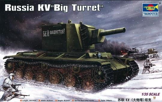 Trumpeter - Russischer KV ''Big Turret''