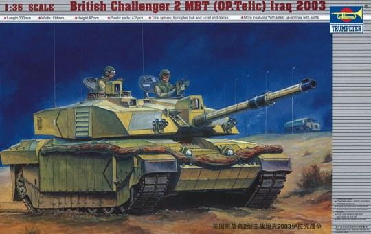 Trumpeter - Challenger II Operation Telic, Irak 2003