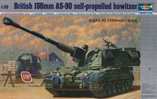 Trumpeter - Britische 155 mm AS-90 Selbstfahrlafette