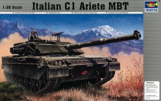 Trumpeter - Italienischer Panzer C-1 Ariete