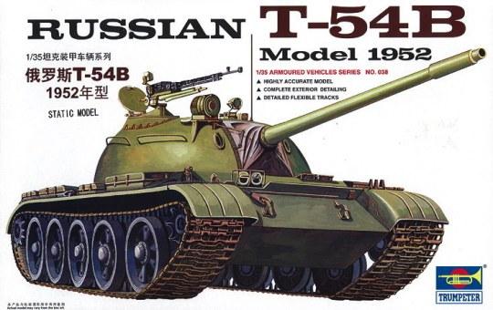 Trumpeter - Russischer Panzer T-54B